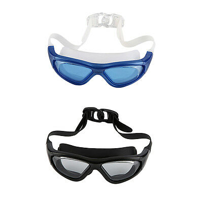 Swim Goggle With Anti-Fog UV Protective Plain Mirrored Curve Lens For Adult ZA