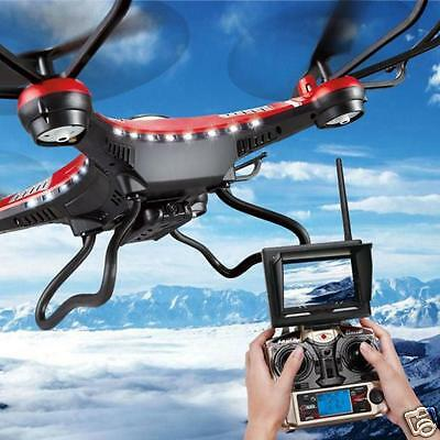 JJRC H8D 6-Axis Gyro 5.8G FPV RC Quadcopter Drone HD 2.0MP Camera With Monitor