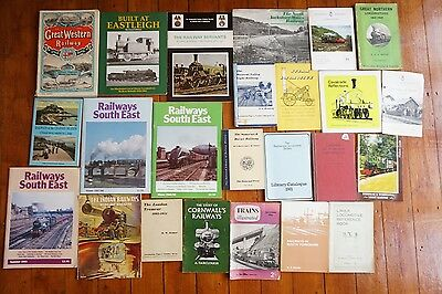 Railway Loco Locomotive Booklets Small Books x24 Large Job Lot