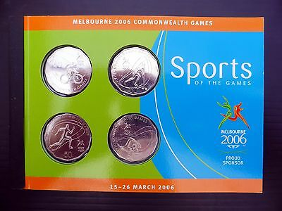 AUSTRALIA 2006 Commonwealth Games with 4 Coins FP7865