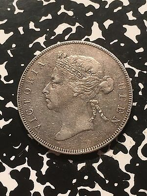 1895 British Honduras 50 Cents Lot#6577 Nice! Low Mintage! Silver!