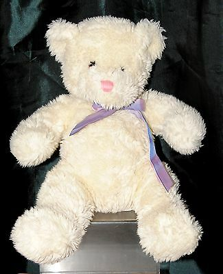 Chad Valley 18 Inch Cream Sparkly Teddy Bear Soft / Plush Toy