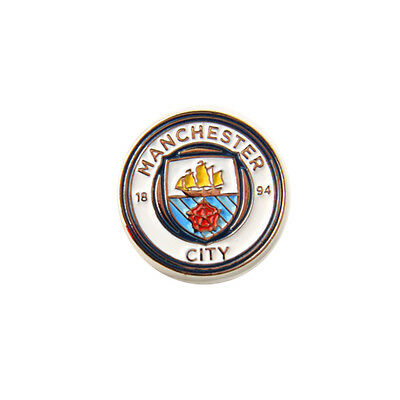 Manchester City Pin Badge Football Crest Official Club Pins Badges MCFC FC New