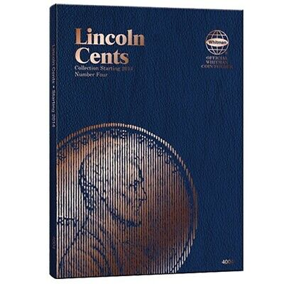 Whitman Coin Folder # 4004 Lincoln Memorial Cents