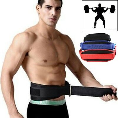 CFR Weight Lifting Belt Gym Training Back Support Neoprene Lumber Pain Fitness