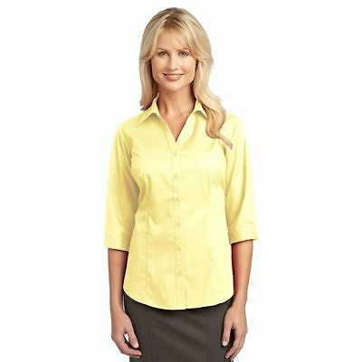 IMPROVED Port Authority Ladies 3/4-Sleeve Blouse-L6290