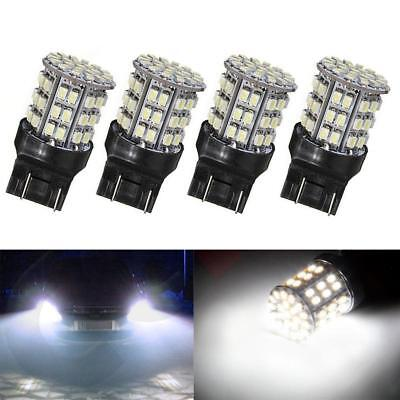 4x T20 7440 7443 64 SMD 1206 White Tail 6000K inverse frein Ampoule LED