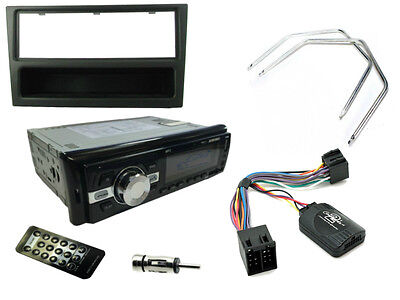 VAUXHALL CORSA C 00-04 Bluetooth Car Stereo Head Unit Radio + Steering Controls
