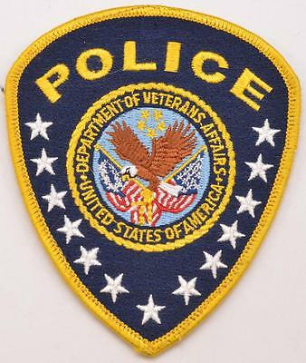 Veterans Affairs VA Police Department Officer Embroidered Shoulder Patch LEO