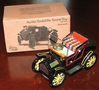 Hugo Austin Endcliffe Tourer Classic Black Tin Toy Car 1906 Brand New
