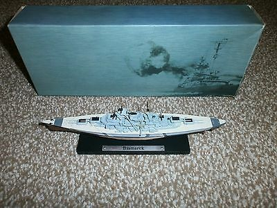 BISMARK GERMAN BATTLE SHIP ATLAS EDITION COLLECTION 1:1250 - Boxed