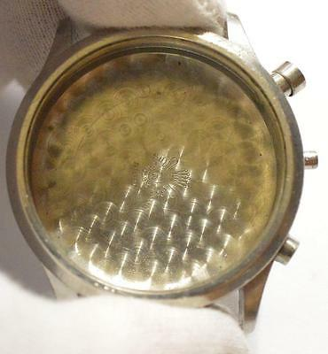 Rolex Valjoux 22 VTG Forties chronograph watch stainless steel case Ø38mm
