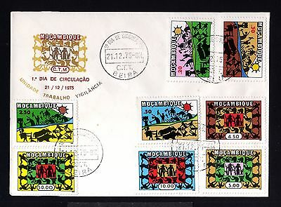 12867-MOÇAMBIQUE-FIRST DAY COVER BEIRA.1975.1º dia.FDC.Portugal colonies