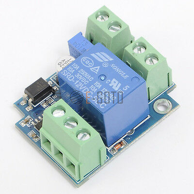 Power ON/OFF Delay Relay Module Adjustable Delay Switch  Car Robot Modification