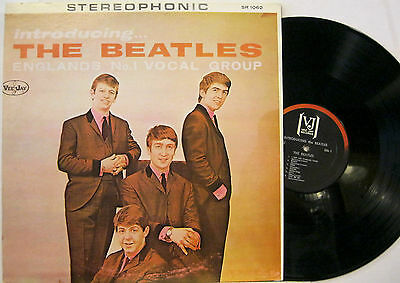 """THE BEATLES """"INTRODUCING....THE BEATLES""""  lp USA unofficial near mint"""