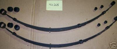 """REAR LEAF SPRINGS W// 3/"""" LIFT FOR 1962-64 FORD FAIRLANE"""