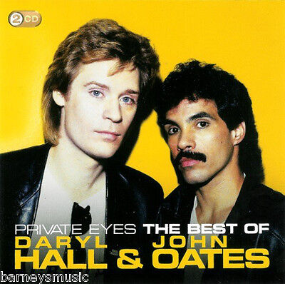 DARYL HALL & JOHN OATES ( NEW SEALED 2 x CD SET ) THE VERY BEST OF GREATEST HITS
