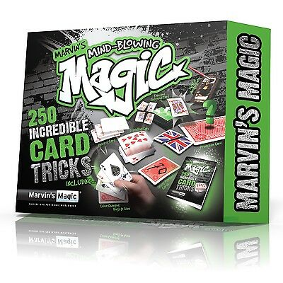 Marvin's Magic Children Magicians Mind Blowing 250 Incredible Card Tricks Set