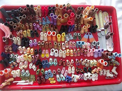 Huge My Scene Barbie Girl Dolls Shoes & Boots/over 118 Pairs - Bundle - Lots