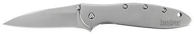 "Kershaw Leek Knife 1660 Assisted Opening - Made in USA - New in Box - 3"" Blade"