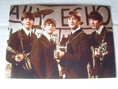 POST CARD new not sealed FEATURING THE BEATLES