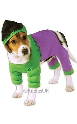 Marvel L'incroyable Hulk Animal De Compagnie Costume Halloween Chien Chat Noël