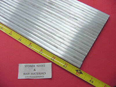 """20 pieces 1/4"""" ALUMINUM 6061 ROUND ROD 48"""" long T6511 Solid .25"""" Lathe Stock 80'"""