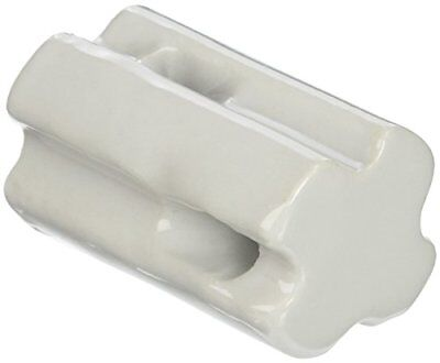 Gallagher G692034 10-Pack Porcelain Bullnose Electric Fence Insulator, White New