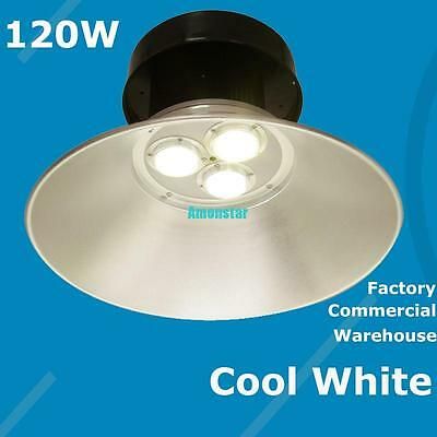 LED 120W High Bay Light Lamp Warehouse Industrial Factory Commercial Lighting