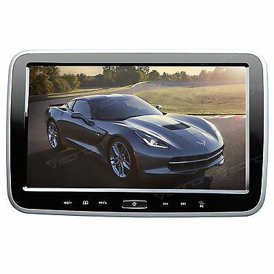 "US Portable HD 10.1"" TFT Slim HDMI Car Headrest DVD Player Pillow Monitor Game A"