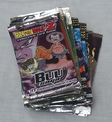 Dragonball Z Trading Cards & Ccg Mixed Lot Of 20 Packs + Demo New & Sealed