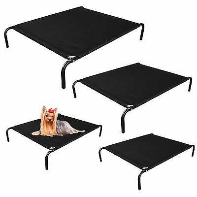 Large Elevated Dog Bed Portable Waterproof Outdoor Raised Pet Basket