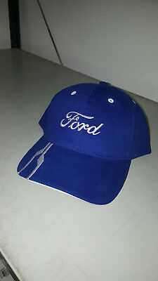 Ford Genuine New Baseball Cap In Blue With White Stripes 35020531