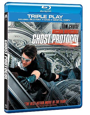 Mission Impossible Ghost Protocol Blu-ray + DVD Brand New Sealed