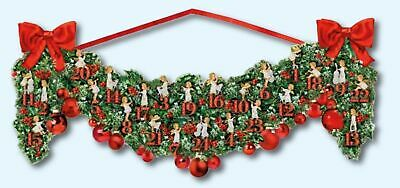 Coppenrath Victorian Christmas Garland Angel Advent Calendar 24 doors 68 x 30 cm