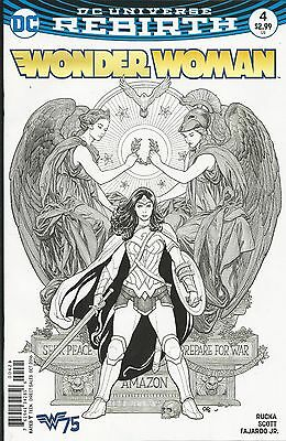 DC Rebirth Wonder Woman comic issue 4 Limited variant