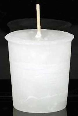 Crystal Journey's Reiki Charged Votive Candle for Spirit!