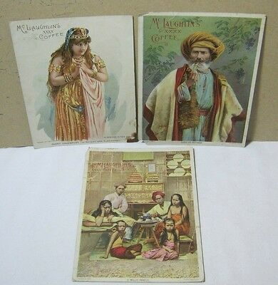 McLaughlin's Coffee 1890's Adv Premiums Lot Sheik of Bethany T*