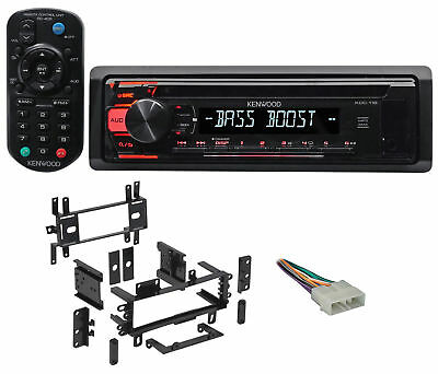 Kenwood CD Player Receiver Stereo MP3/Aux+Remote For 1987-1995 JEEP WRANGLER YJ