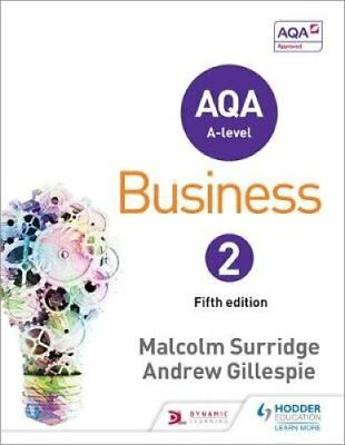 AQA Business for A Level 2 by Malcolm Surridge 9781471835780 (Paperback, 2015)