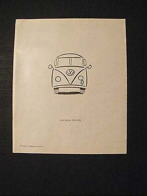 1995 Jerry Garcia~Grateful Dead VW~Volkswagen Vintage Rock~Roll Music Promo AD