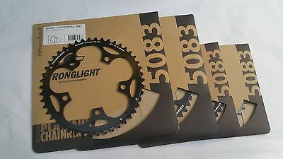 Stronglight Chain Ring Dural 5083 110mm BCD Shimano 9 10 speed Road Cyclocross