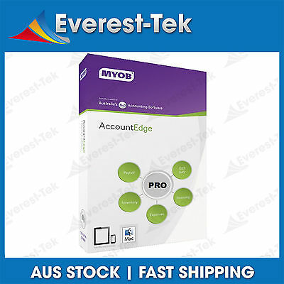 MYOB AccountEdge Pro v12 For MAC OS