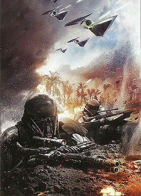 Star Wars Rogue One Mission Briefing ~ MONTAGES Insert Card #2 of 9