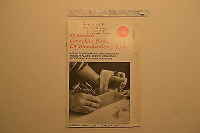 #J118 EMMERICH'S (E-C-E) Complete Book of Woodworking Tools Wooden Plane Manual