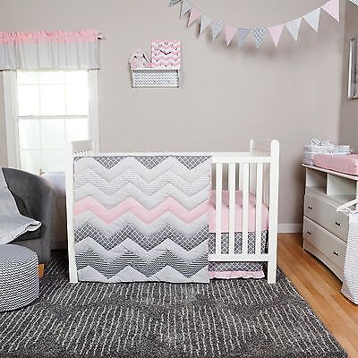 Trend Lab Cotton Candy Baby Nursery Crib Bedding CHOOSE FROM 3 4 5 6 Piece Set