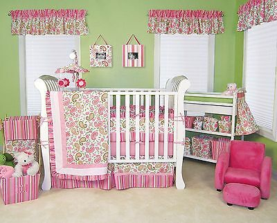 Trend Lab Paisley Park Baby Nursery Crib Bedding CHOOSE FROM 3 4 5 6 7 Piece Set