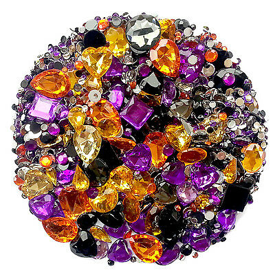 HALLOWEEN Mix/Set of Gems Diamantes Rhinestones Crystals Craft Embellishments