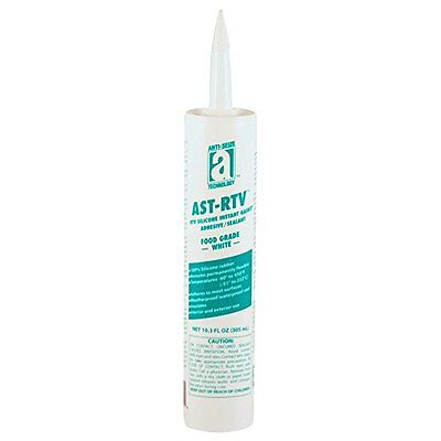 AST-RTV 27110 Food Grade White 100% Silicone Adhesive/Sealant/Instant Gasket,