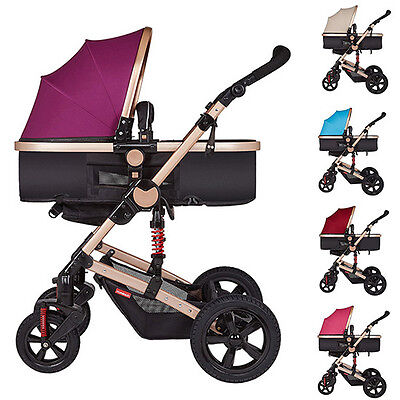 New Baby Stroller Multifunction Infant Pram Folding Newborn Carriage Pushchair